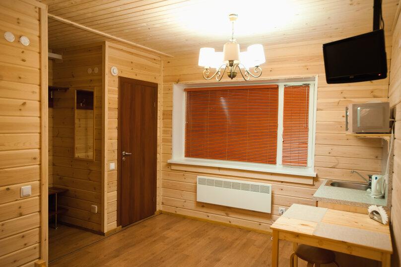 Двухместный таунхаус (одна двуспальная кровать), Биричева, 11, Петрозаводск - Фотография 1
