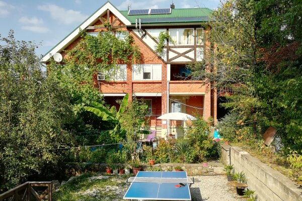 Дом, 120 кв.м. на 8 человек, 2 спальни, Янтарная улица, 34, Архипо-Осиповка - Фотография 1