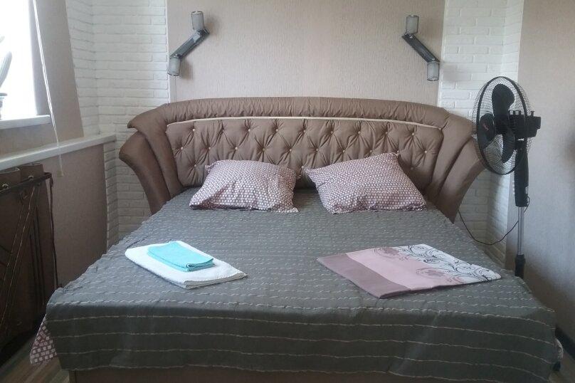 Двухместный с двухспальной кроватью или двумя односпальными. Сан узел на 2 номера. , Черноморская улица, 12, Береговое, Феодосия - Фотография 1
