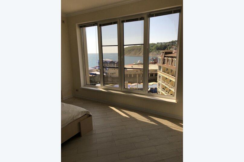 2-комн. квартира, 60 кв.м. на 4 человека, микрорайон Горизонт, 57, Ольгинка - Фотография 11