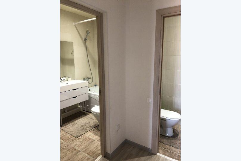 2-комн. квартира, 65 кв.м. на 6 человек, микрорайон Горизонт, 57, Ольгинка - Фотография 41