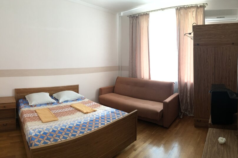 Номер с большой кроватью, диваном и общим санузлом. , Цветочная улица, 2, Геленджик - Фотография 1