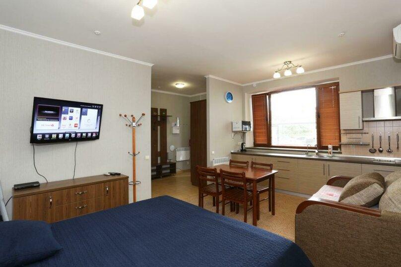 Большой двухместный номер с 2 отдельными кроватями, улица Ленина, 142г, Коктебель - Фотография 3