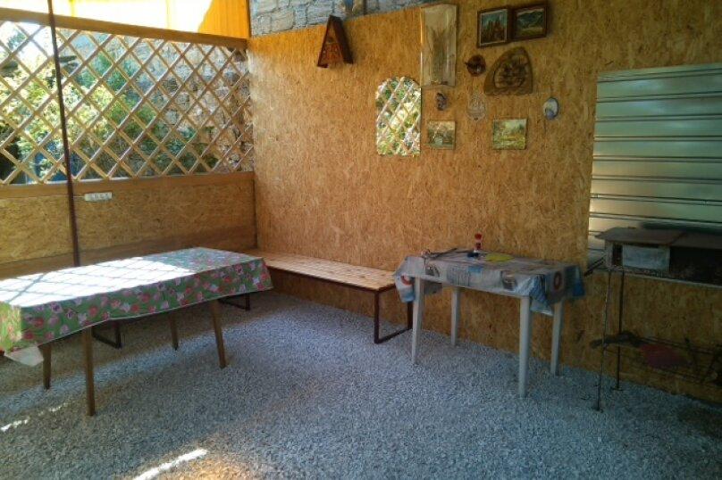 Дом-дача до 12 человек, 4 комнаты, большой двор, 200 кв.м. на 12 человек, 4 спальни, Раздольненское шоссе, 4, Евпатория - Фотография 7