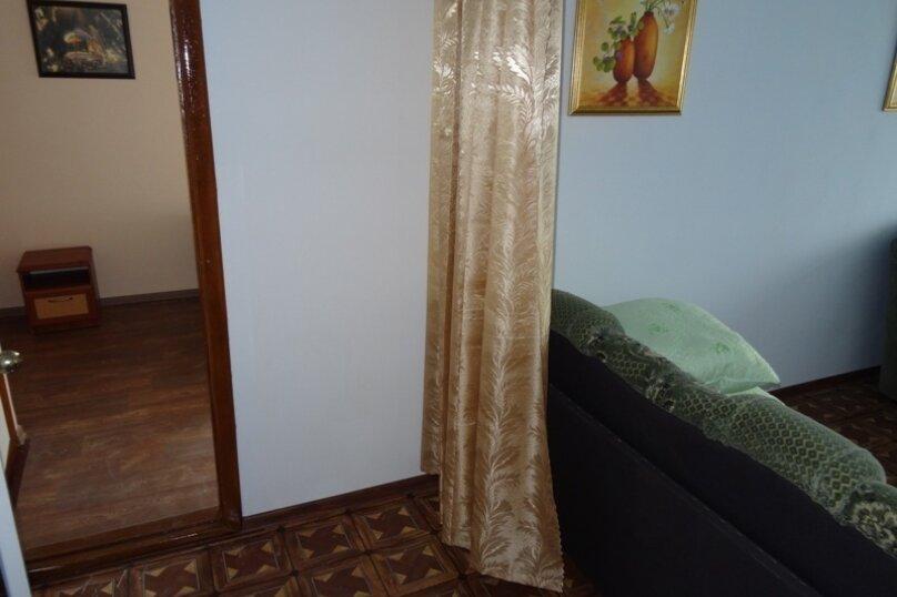 8-ми местный двухкомнатный номер, улица Лазурный Берег, 27, Морское - Фотография 4