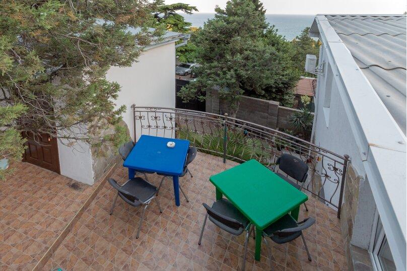 Стандарт с балконом,и видом на море,номер 8, Красномаякская улица, 9, Симеиз - Фотография 9