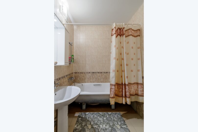 1-комн. квартира, 43 кв.м. на 4 человека, Переверткина, 24а, Воронеж - Фотография 13