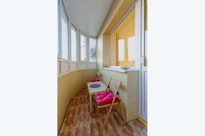 1-комн. квартира, 43 кв.м. на 4 человека, Переверткина, 24а, Воронеж - Фотография 15