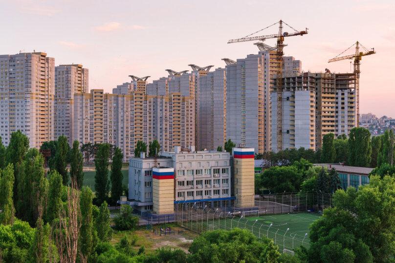 1-комн. квартира, 43 кв.м. на 4 человека, Переверткина, 24а, Воронеж - Фотография 16