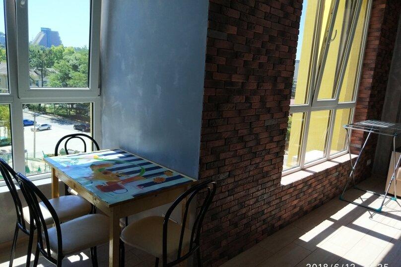 1-комн. квартира, 30 кв.м. на 4 человека, улица Гайдара, 20Ак1, Дагомыс - Фотография 10