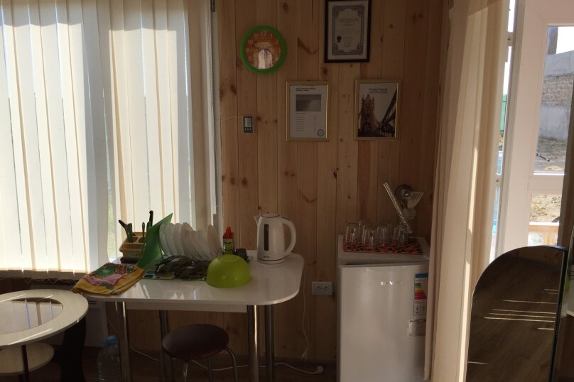 Домику моря, 30 кв.м. на 4 человека, 1 спальня, , , Штормовое - Фотография 7