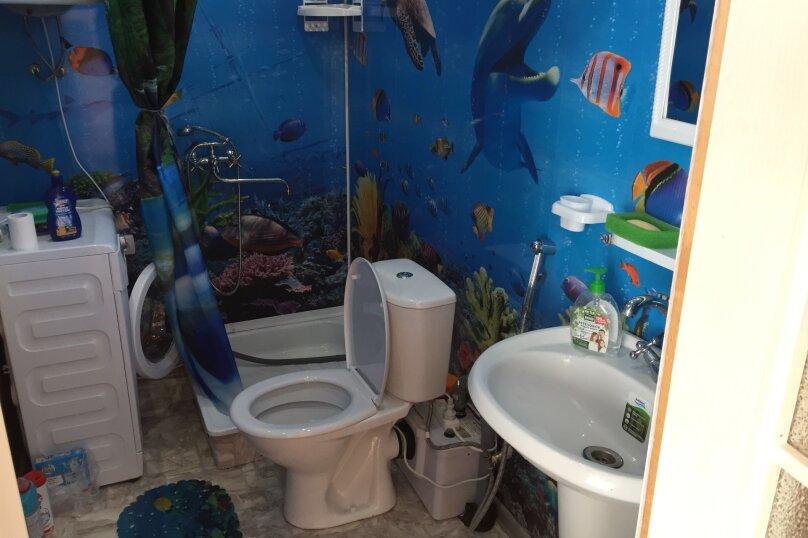 Домику моря, 30 кв.м. на 4 человека, 1 спальня, , , Штормовое - Фотография 13