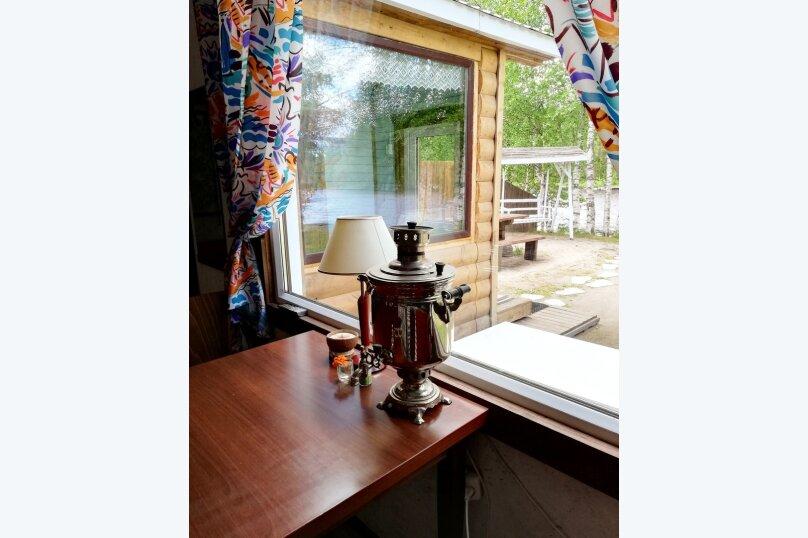 Дом Сяпся, 57 кв.м. на 6 человек, 2 спальни, пос. Сяпся, Речная улица, 14, Петрозаводск - Фотография 12