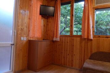 Уютный  домик  в  частном  секторе , 15 кв.м. на 2 человека, 1 спальня, улица Щепкина, Алупка - Фотография 4