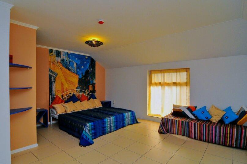 4-х местная семейная комната в мансарде, Школьный переулок, 30А, Коктебель - Фотография 2
