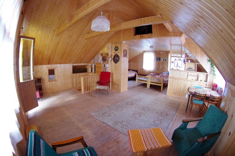 Дом с мансардой на берегу с видом на озеро Селигер. Рыбалка, шашлыки., 70 кв.м. на 6 человек, 1 спальня, д. Городец, 5, Осташков - Фотография 3