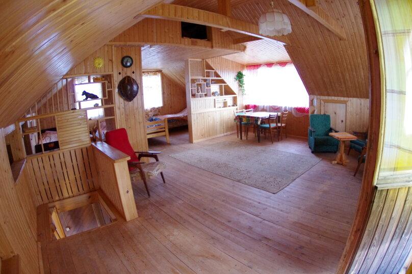 Дом с мансардой на берегу с видом на озеро Селигер. Рыбалка, шашлыки., 70 кв.м. на 6 человек, 1 спальня, д. Городец, 5, Осташков - Фотография 4