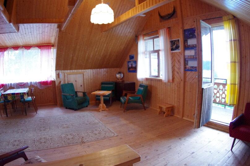 Дом с мансардой на берегу с видом на озеро Селигер. Рыбалка, шашлыки., 70 кв.м. на 6 человек, 1 спальня, д. Городец, 5, Осташков - Фотография 9