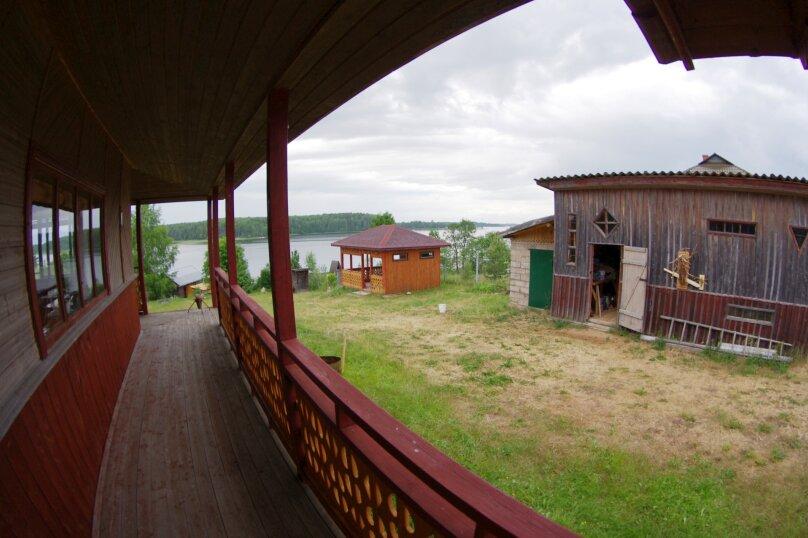 Дом с мансардой на берегу с видом на озеро Селигер. Рыбалка, шашлыки., 70 кв.м. на 6 человек, 1 спальня, д. Городец, 5, Осташков - Фотография 12