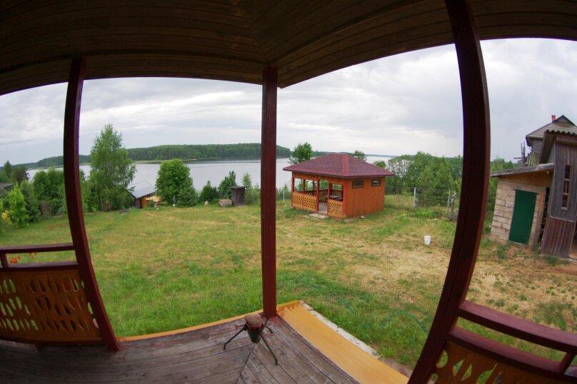 Дом с мансардой на берегу с видом на озеро Селигер. Рыбалка, шашлыки., 70 кв.м. на 6 человек, 1 спальня, д. Городец, 5, Осташков - Фотография 13