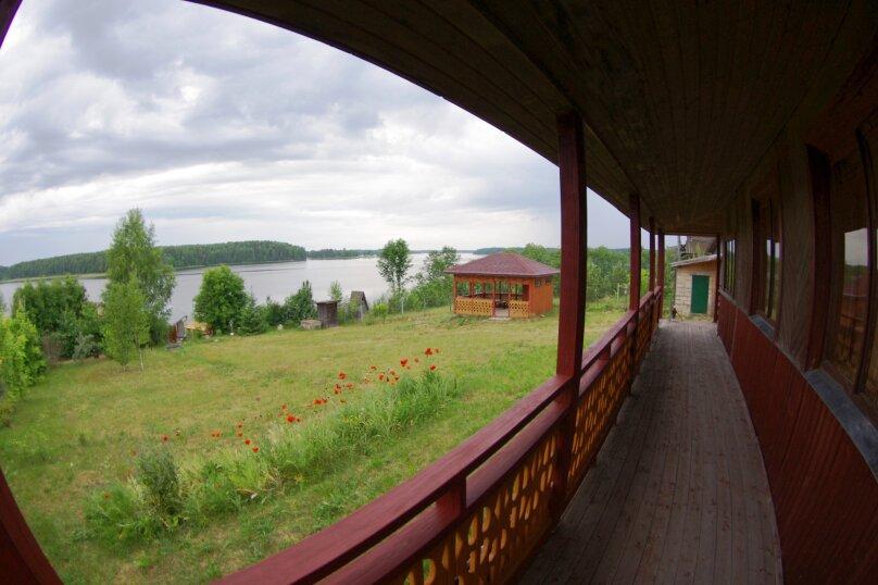 Дом с мансардой на берегу с видом на озеро Селигер. Рыбалка, шашлыки., 70 кв.м. на 6 человек, 1 спальня, д. Городец, 5, Осташков - Фотография 14