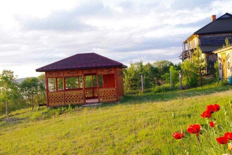 Дом с мансардой на берегу с видом на озеро Селигер. Рыбалка, шашлыки., 70 кв.м. на 6 человек, 1 спальня, д. Городец, 5, Осташков - Фотография 17