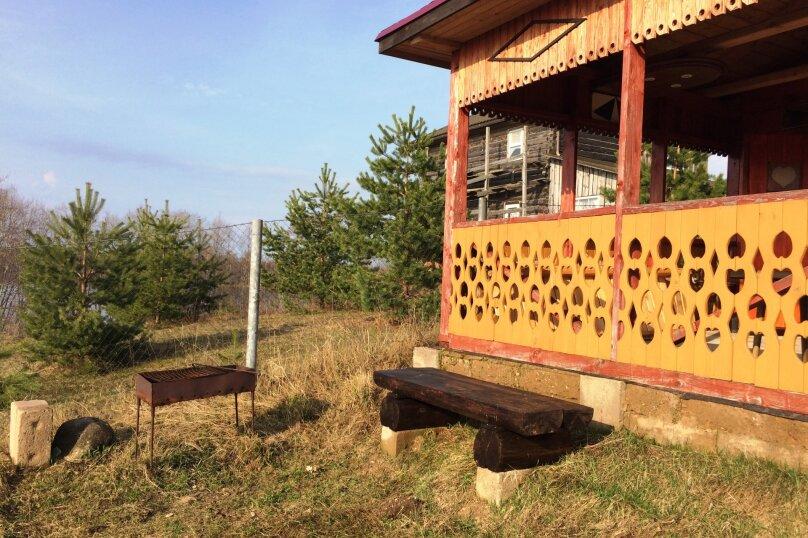 Дом с мансардой на берегу с видом на озеро Селигер. Рыбалка, шашлыки., 70 кв.м. на 6 человек, 1 спальня, д. Городец, 5, Осташков - Фотография 18