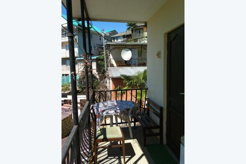 Двухместный номер с душем и балконом с видом на море, Весенняя улица, 25, Лоо - Фотография 5