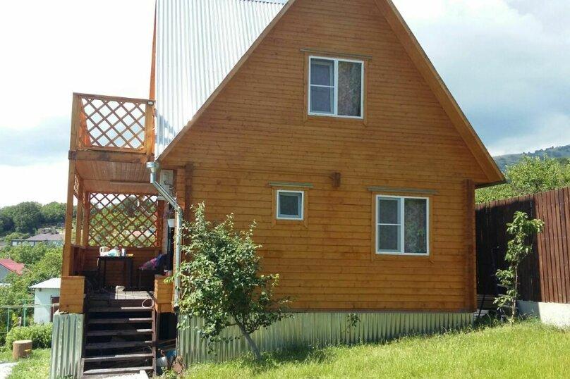 Дом под ключ с баней и бассейном, 80 кв.м. на 7 человек, 2 спальни, Новая, 25, село Марьина Роща, Геленджик - Фотография 2