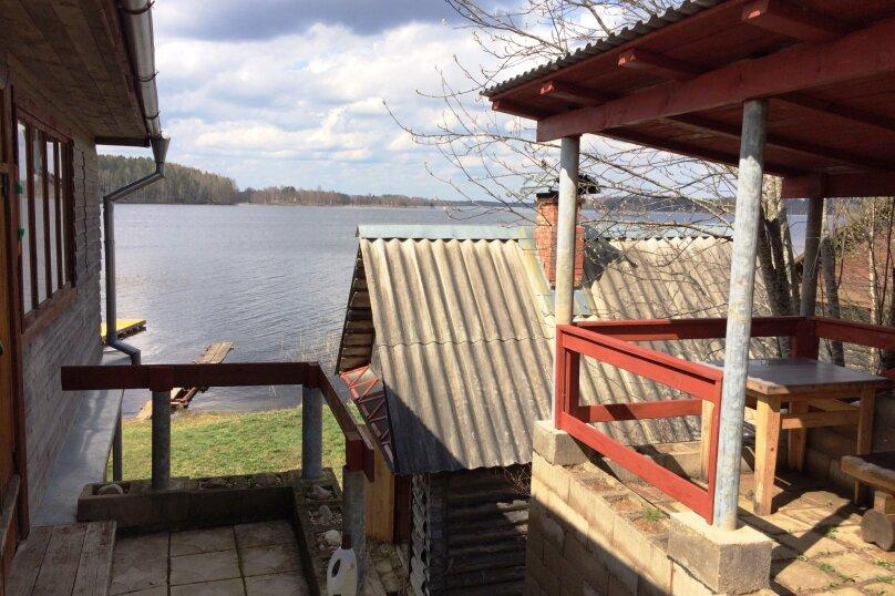 Отдых на самом берегу озера Селигер. Рыбалка, шашлыки., 30 кв.м. на 5 человек, 1 спальня, д. Городец, 5, Осташков - Фотография 15