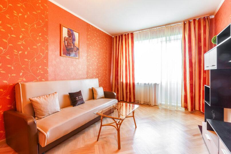 3-комн. квартира, 64 кв.м. на 6 человек, Большая Дорогомиловская улица, 16, Москва - Фотография 6
