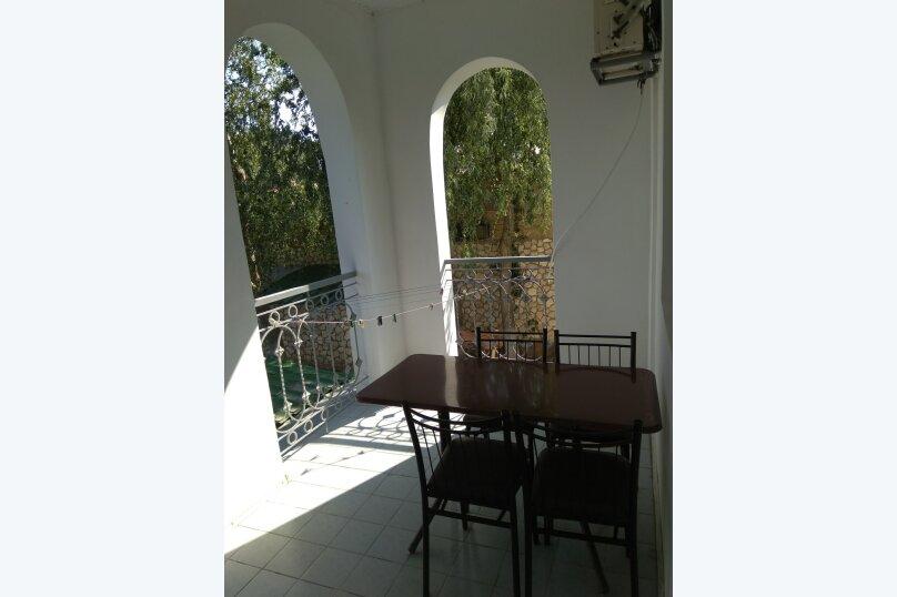 1ком с кондиционером и балконом, улица Кирилла и Мефодия, 17, Коктебель - Фотография 3