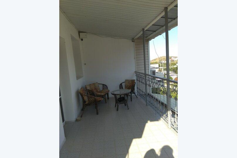 1ком с кондиционером и балконом, улица Кирилла и Мефодия, 17, Коктебель - Фотография 4