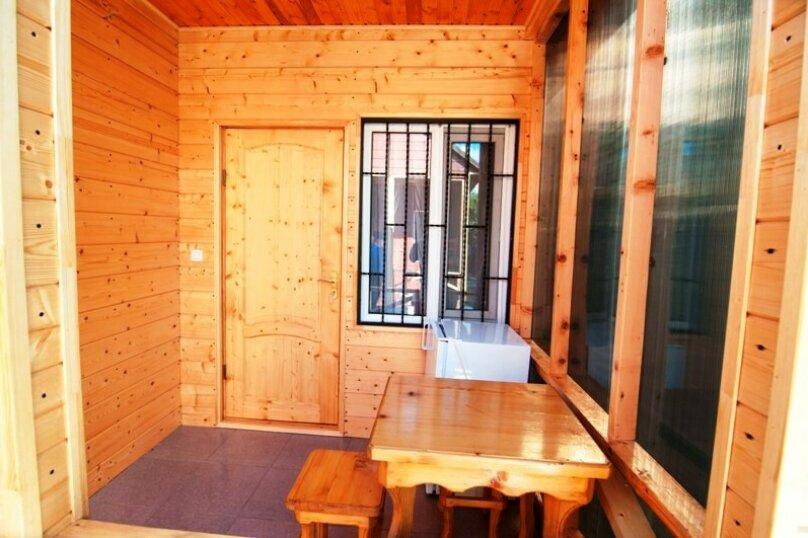 4-х местный номер в домике, улица Шаумяна, 51, Алахадзы - Фотография 6