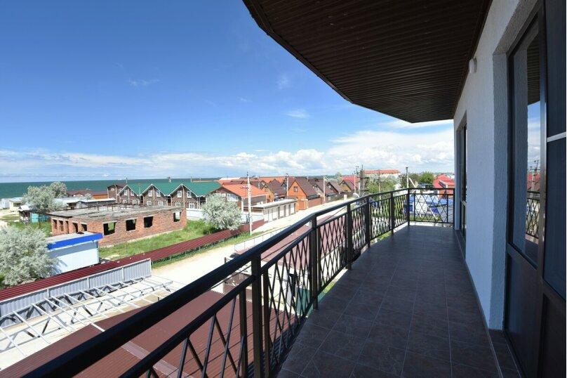 4-местный двухкомнатный номер с балконом, Солнечная улица, 1, ПК Кавказ, Голубицкая - Фотография 3