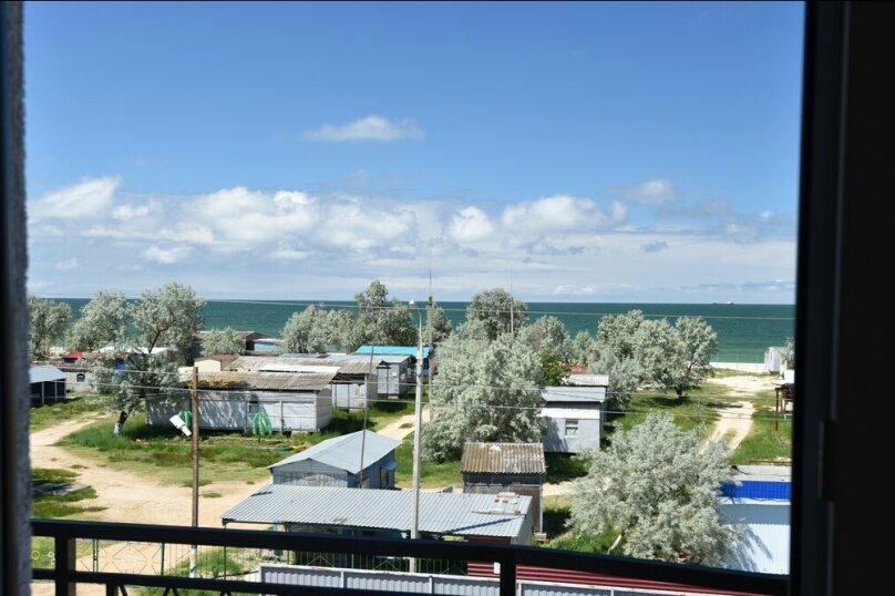 4-местный двухкомнатный номер с балконом, Солнечная улица, 1, ПК Кавказ, Голубицкая - Фотография 4