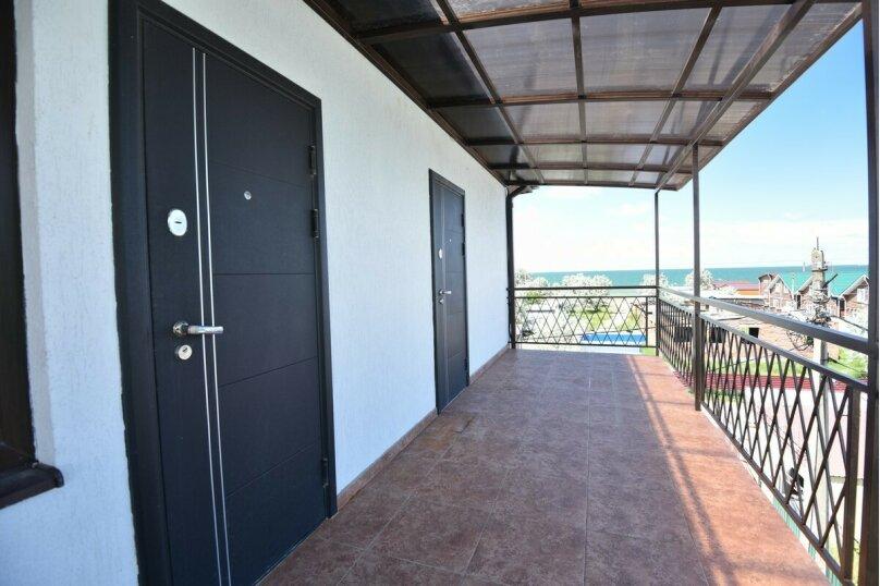4-местный двухкомнатный номер без балкона, Солнечная улица, 1, ПК Кавказ, Голубицкая - Фотография 4