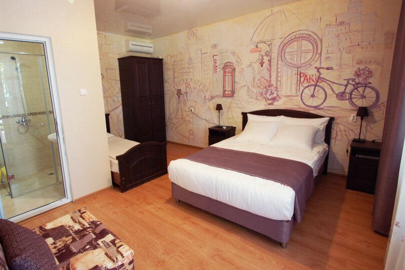 Трехместная меблированная комната, Совхозный переулок, 2, Дивноморское - Фотография 1