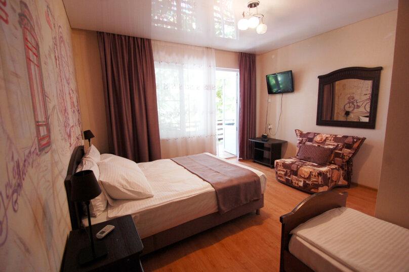 Трехместная меблированная комната, Совхозный переулок, 2, Дивноморское - Фотография 4
