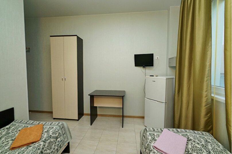 Двухместный с раздельными кроватями, микрорайон Горизонт, 49, Ольгинка - Фотография 4