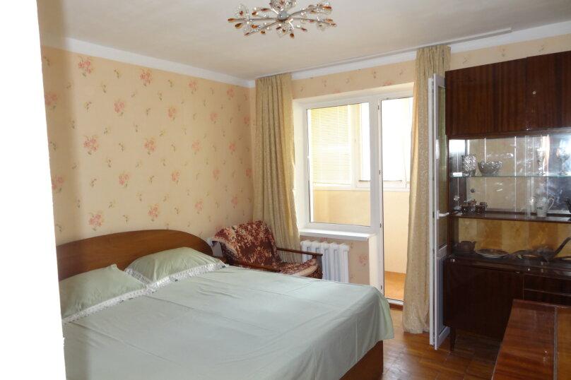 2-комн. квартира, 50 кв.м. на 7 человек, улица Космонавтов, 22, Форос - Фотография 1