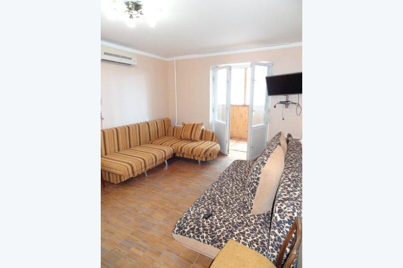 2-комн. квартира, 50 кв.м. на 7 человек, улица Космонавтов, 22, Форос - Фотография 5