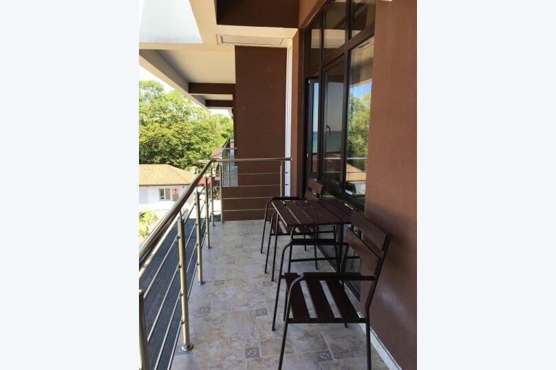 Номер трёхместный, с балконом и видом на море+_, Декабристов, 163/м, Лоо - Фотография 6
