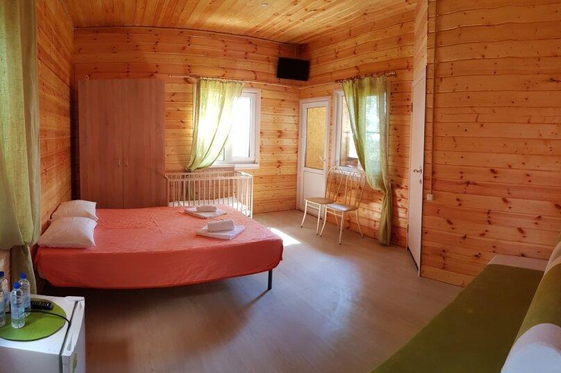 Семейный номер с балконом в Лесном домике  2-5 чел. (двуспальная+двухместный диван, 1 эт, 20 м²), Сочинское шоссе, 8, Лазаревское - Фотография 1