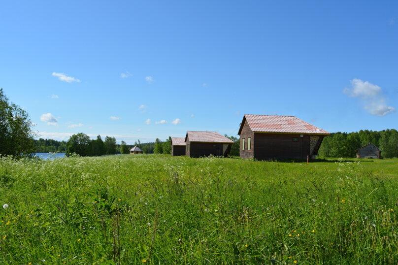 Дом на берегу озера в Карелии, 65 кв.м. на 4 человека, 2 спальни, деревня Кукшегоры, 1, Олонец - Фотография 1