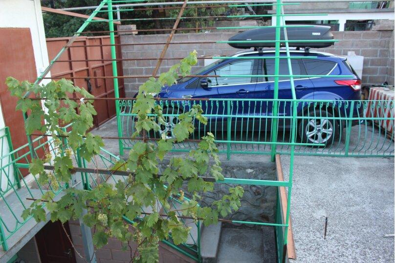 Дом конд.2+2кухня10мин до моря с тихим уютным  зеленым двором. Сдается по СУТОЧНО, 40 кв.м. на 4 человека, 1 спальня, Таврическая улица, 36, Алушта - Фотография 11