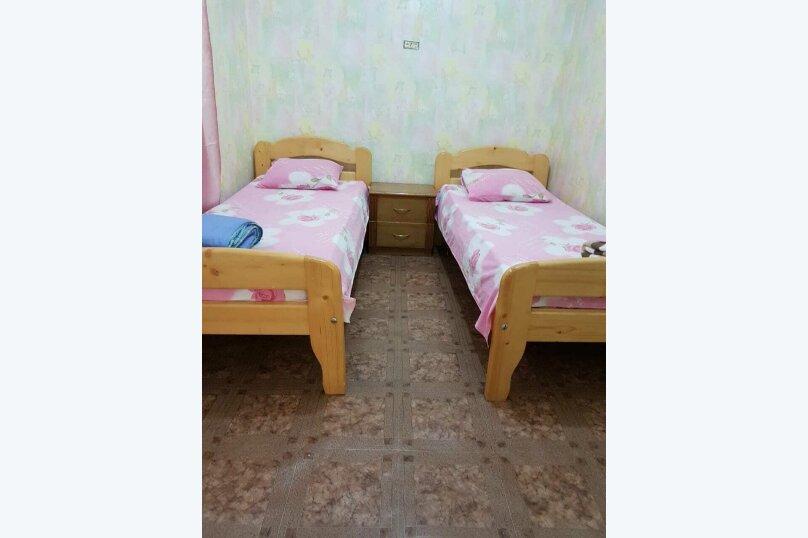 Летний дом, 30 кв.м. на 6 человек, 2 спальни, улица Шаляпина, 5, Новый Свет, Судак - Фотография 6