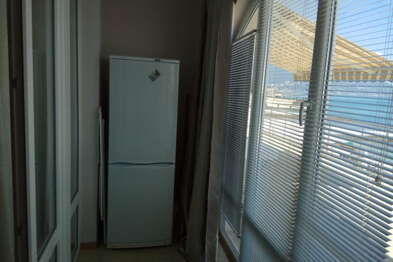 2-комн. квартира, 51 кв.м. на 4 человека, Алупкинское шоссе, 12, Курпаты, Ялта - Фотография 9