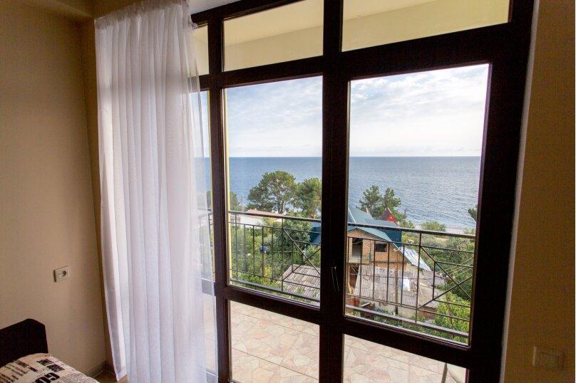 двухкомнатный номер с балконом и видом на море, Октябрьская улица, 60к1, Цандрыпш - Фотография 2