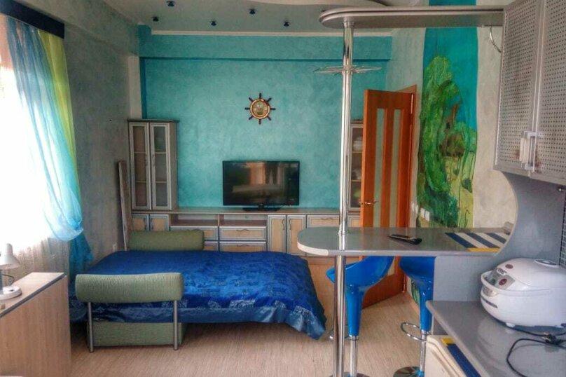 1-комн. квартира, 30 кв.м. на 2 человека, улица Ленина, 26, Алушта - Фотография 1